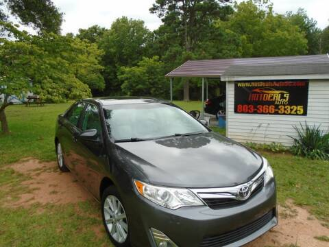 2012 Toyota Camry for sale at Hot Deals Auto LLC in Rock Hill SC