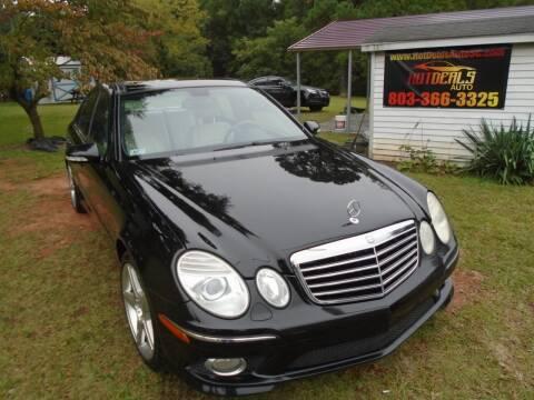 2007 Mercedes-Benz E-Class for sale at Hot Deals Auto LLC in Rock Hill SC