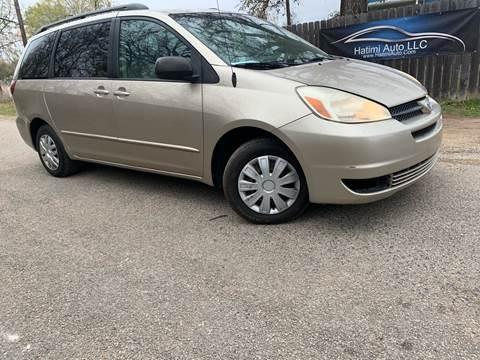 2005 Toyota Sienna for sale at Hatimi Auto LLC in Buda TX
