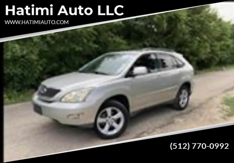 2007 Lexus RX 350 for sale at Hatimi Auto LLC in Buda TX