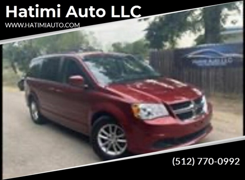 2016 Dodge Grand Caravan for sale at Hatimi Auto LLC in Buda TX