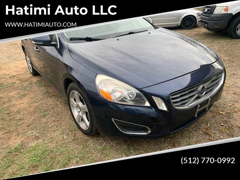 2013 Volvo S60 for sale at Hatimi Auto LLC in Buda TX