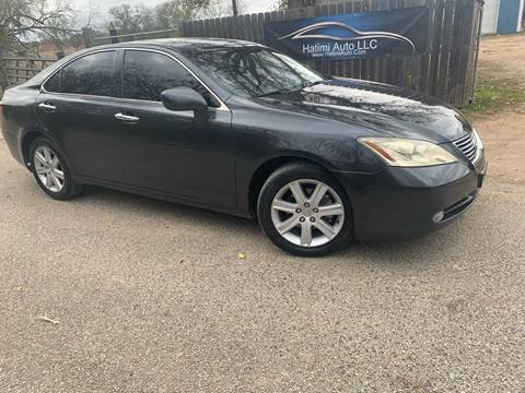 2007 Lexus ES 350 for sale at Hatimi Auto LLC in Buda TX