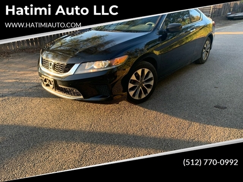 2015 Honda Accord for sale at Hatimi Auto LLC in Buda TX