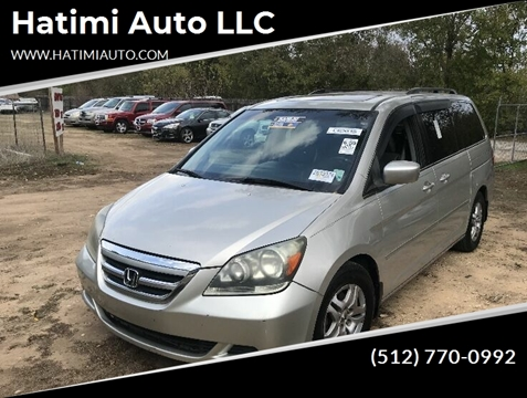2006 Honda Odyssey for sale at Hatimi Auto LLC in Buda TX