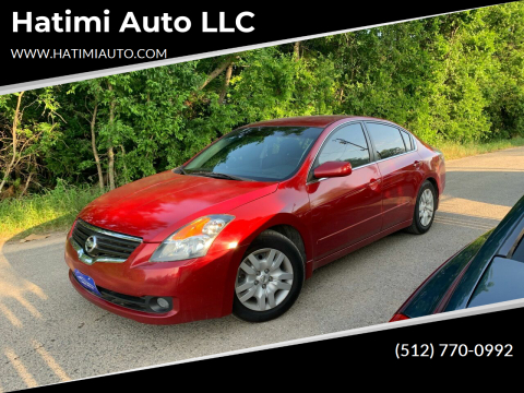 2009 Nissan Altima for sale at Hatimi Auto LLC in Buda TX