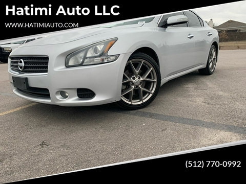 2011 Nissan Maxima for sale at Hatimi Auto LLC in Buda TX
