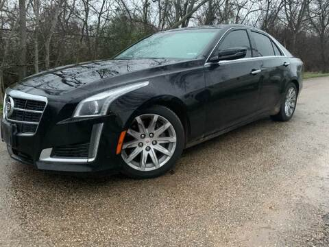 2014 Cadillac CTS for sale at Hatimi Auto LLC in Buda TX