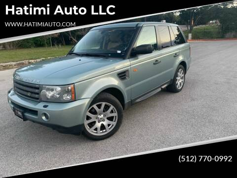 2008 Land Rover Range Rover Sport for sale at Hatimi Auto LLC in Buda TX
