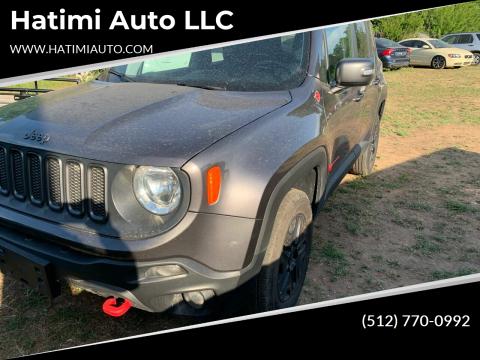 2018 Jeep Renegade for sale at Hatimi Auto LLC in Buda TX