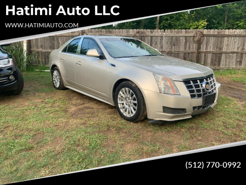 2013 Cadillac CTS for sale at Hatimi Auto LLC in Buda TX