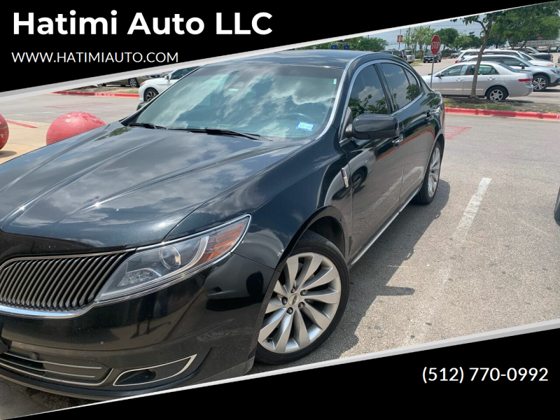2014 Lincoln MKS for sale at Hatimi Auto LLC in Buda TX