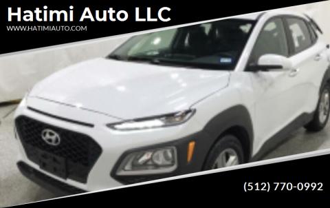 2019 Hyundai Kona for sale at Hatimi Auto LLC in Buda TX