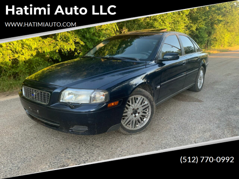 2004 Volvo S80 for sale at Hatimi Auto LLC in Buda TX