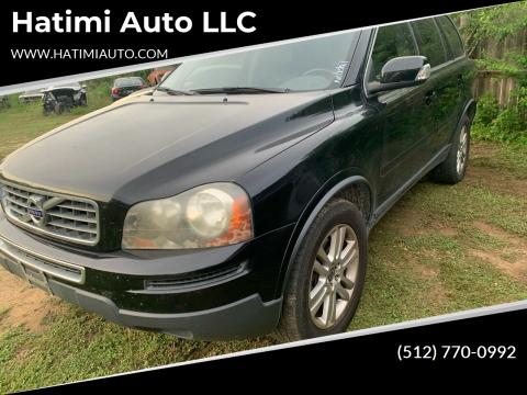 2011 Volvo XC90 for sale at Hatimi Auto LLC in Buda TX