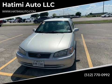 2000 Toyota Camry for sale at Hatimi Auto LLC in Buda TX