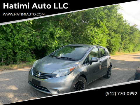 2014 Nissan Versa Note for sale at Hatimi Auto LLC in Buda TX