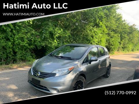 2014 Nissan Versa Note for sale at Hatimi Auto LLC in Buda TX