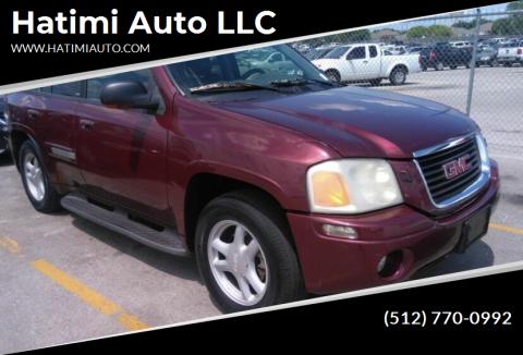 2002 GMC Envoy for sale at Hatimi Auto LLC in Buda TX