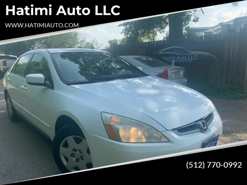 2005 Honda Accord for sale at Hatimi Auto LLC in Buda TX