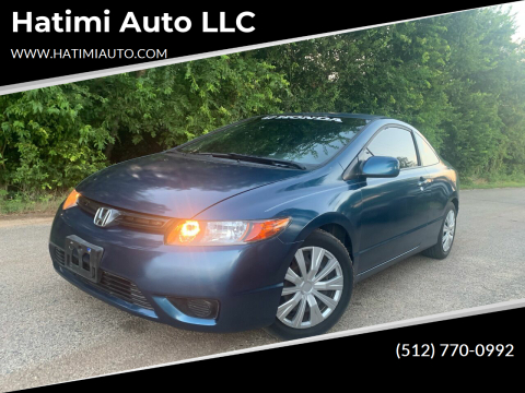 2008 Honda Civic for sale at Hatimi Auto LLC in Buda TX