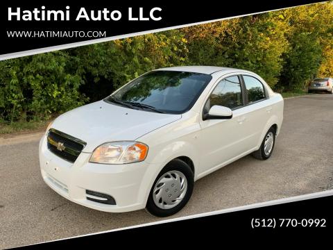 2008 Chevrolet Aveo for sale at Hatimi Auto LLC in Buda TX