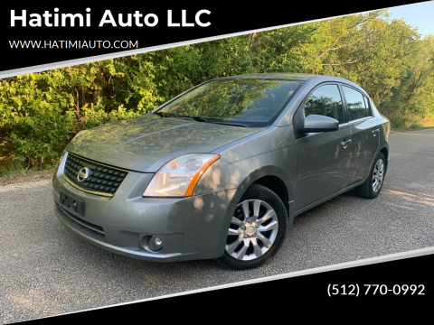 2008 Nissan Sentra for sale at Hatimi Auto LLC in Buda TX