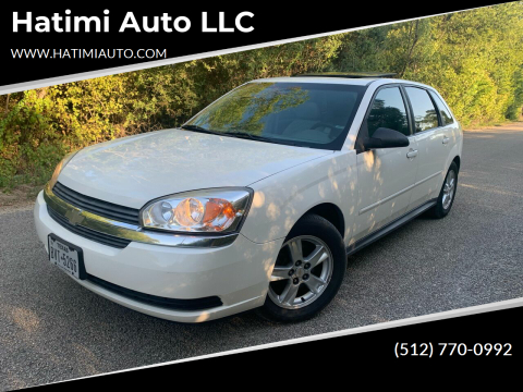 2004 Chevrolet Malibu Maxx for sale at Hatimi Auto LLC in Buda TX