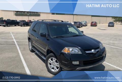 2006 Acura MDX for sale at Hatimi Auto LLC in Buda TX
