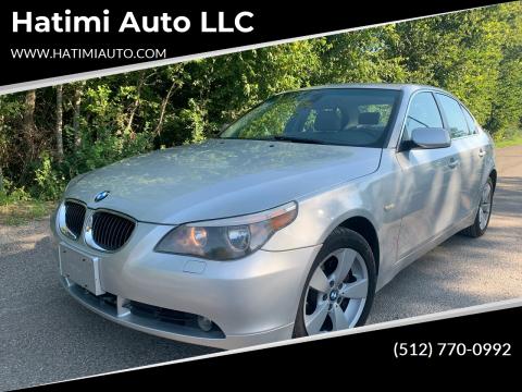 2006 BMW 5 Series for sale at Hatimi Auto LLC in Buda TX