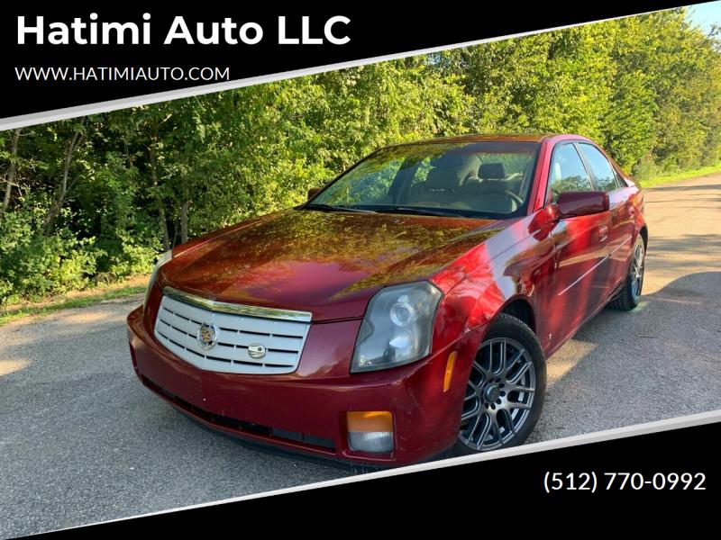 2006 Cadillac CTS for sale at Hatimi Auto LLC in Buda TX