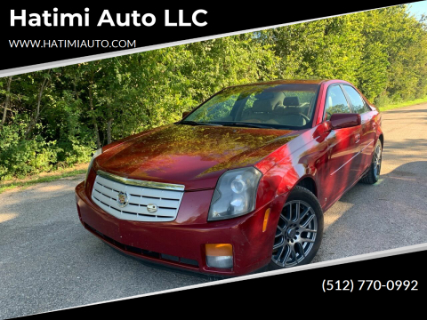 2006 Cadillac CTS for sale at Hatimi Auto LLC in Buda TX