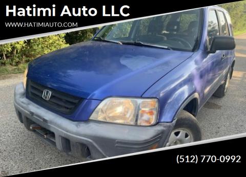 2000 Honda CR-V for sale at Hatimi Auto LLC in Buda TX