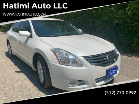 2012 Nissan Altima for sale at Hatimi Auto LLC in Buda TX