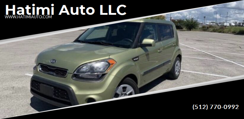 2013 Kia Soul for sale at Hatimi Auto LLC in Buda TX