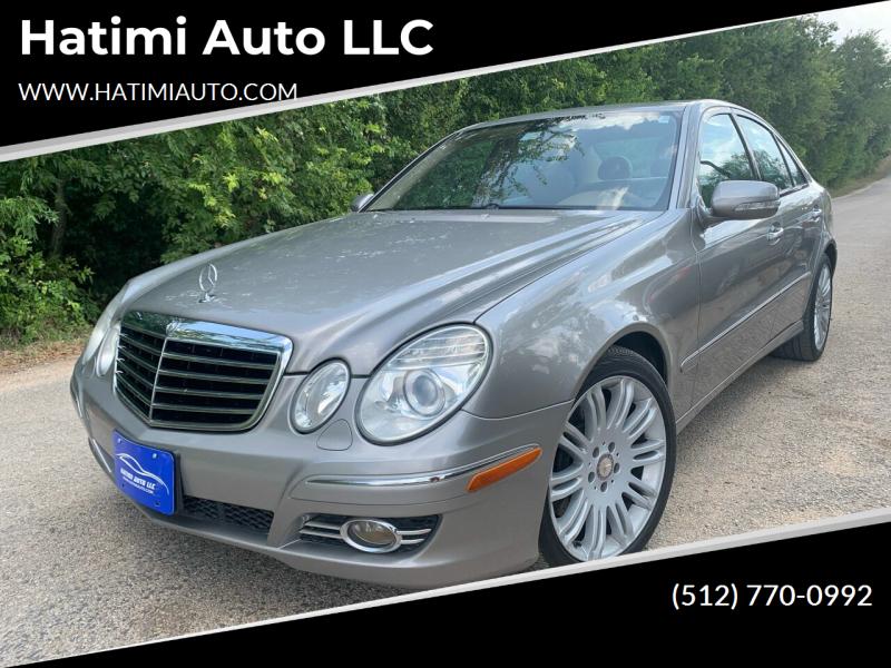 2008 Mercedes-Benz E-Class for sale at Hatimi Auto LLC in Buda TX