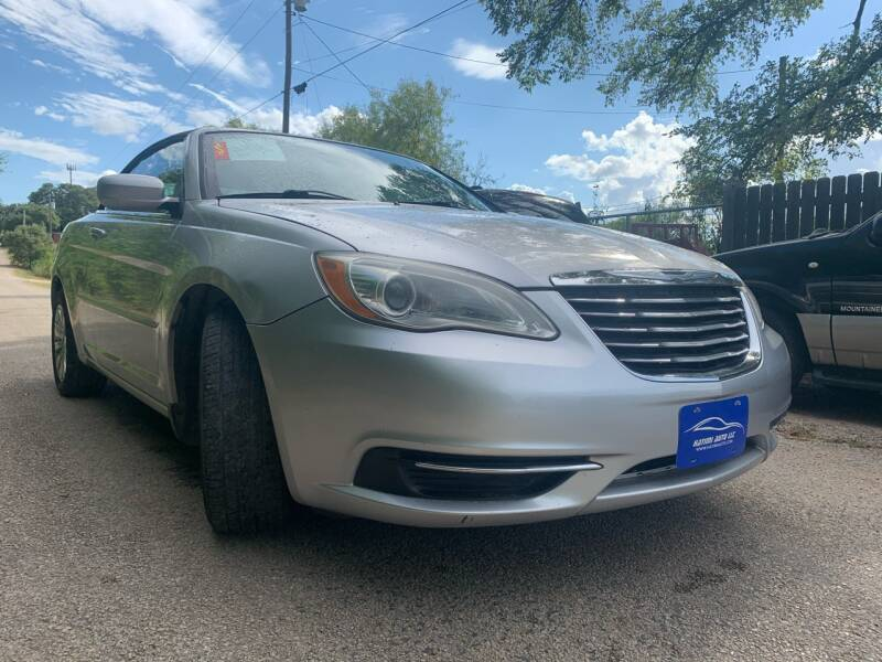 2011 Chrysler 200 Convertible for sale at Hatimi Auto LLC in Buda TX