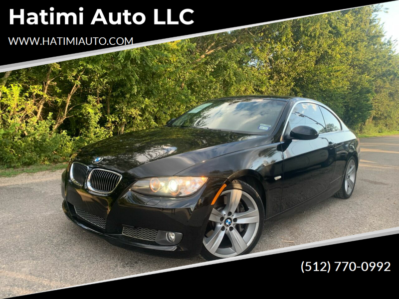 2008 BMW 3 Series for sale at Hatimi Auto LLC in Buda TX
