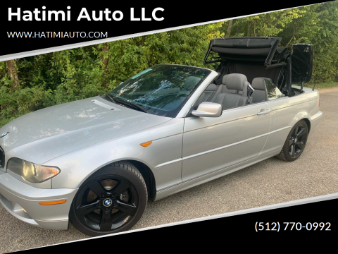 2005 BMW 3 Series for sale at Hatimi Auto LLC in Buda TX