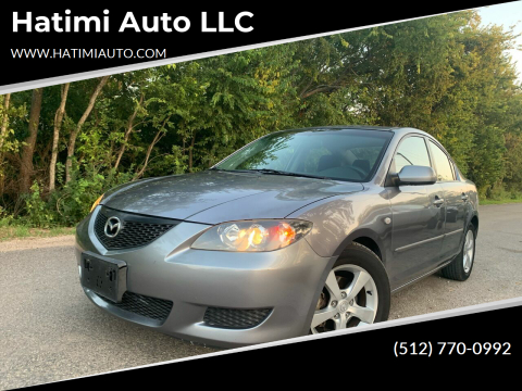 2005 Mazda MAZDA3 for sale at Hatimi Auto LLC in Buda TX