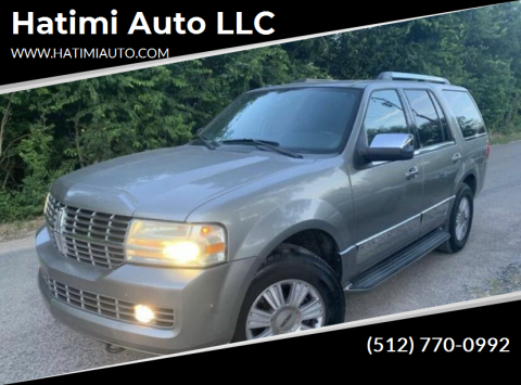 2008 Lincoln Navigator for sale at Hatimi Auto LLC in Buda TX