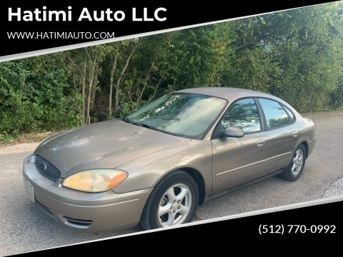 2004 Ford Taurus for sale at Hatimi Auto LLC in Buda TX