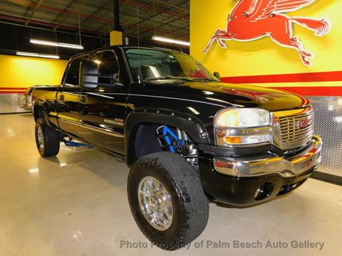 2006 GMC Sierra 2500HD for sale in Boynton Beach, FL