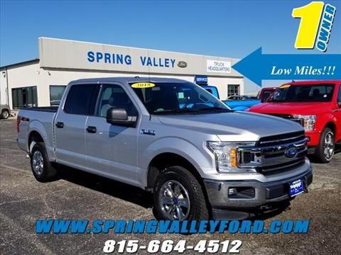 2018 Ford F-150 for sale in Spring Valley, IL