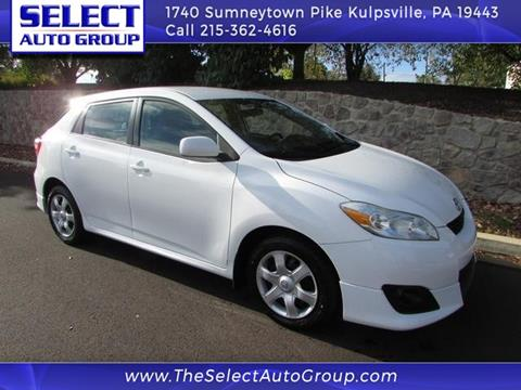 2009 Toyota Matrix for sale in Kulpsville, PA