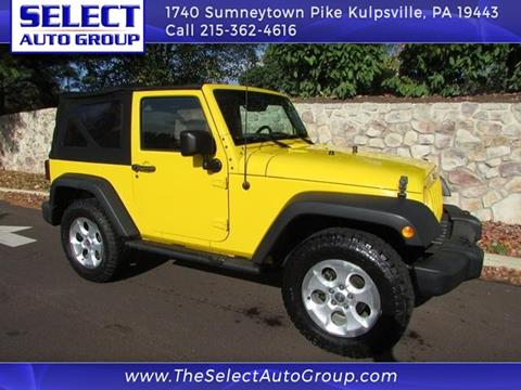 2008 Jeep Wrangler for sale in Kulpsville, PA