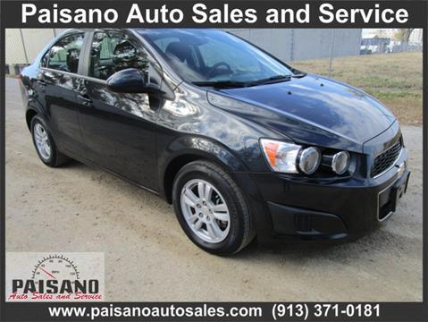 2014 Chevrolet Sonic for sale in Kansas City, KS