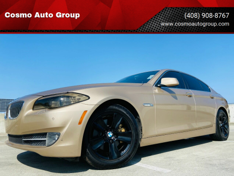 2011 BMW 5 Series for sale at Cosmo Auto Group in San Jose CA
