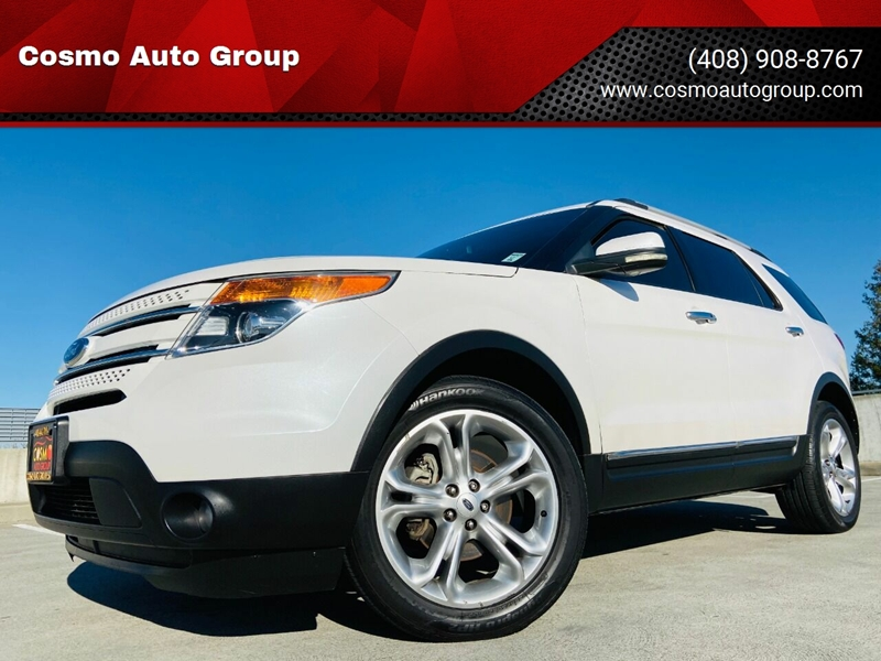 2012 Ford Explorer for sale at Cosmo Auto Group in San Jose CA