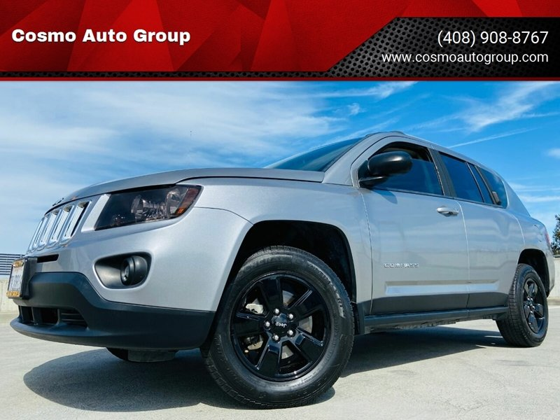 2015 Jeep Compass for sale at Cosmo Auto Group in San Jose CA
